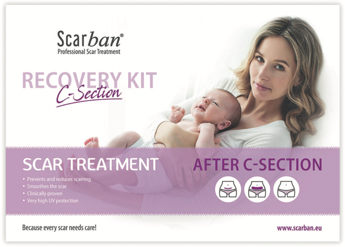 Scarban C-Section Recovery Kit
