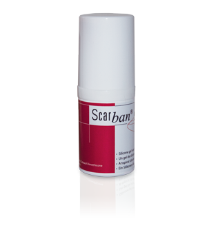 Scarban scar silicone gel, scar