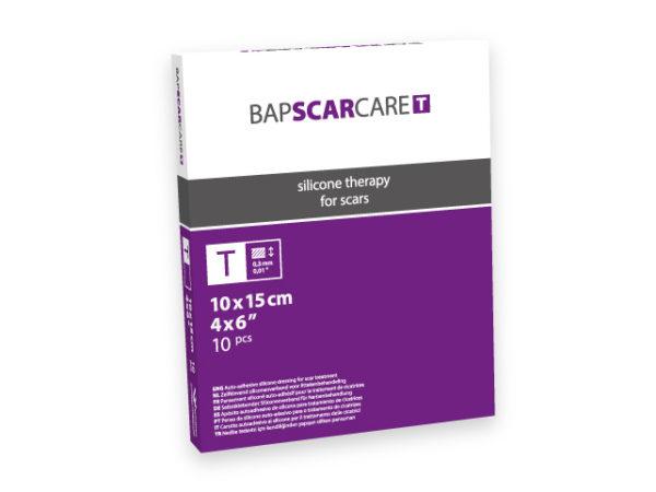 BAP SCARCARE T Littekenverband 10x15cm