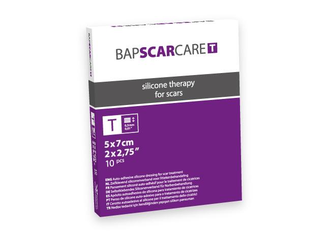 BAP SCARCARE T Littekenverband 5x7cm