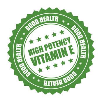 vitamina E narben
